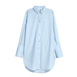 Ready Stock Zara Inspired Poplin Shirt