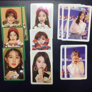 WTT Twice Merry & Happy photocards and CDs