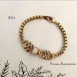 🚚 ferron accessories鋯石手鍊 14.5cm
