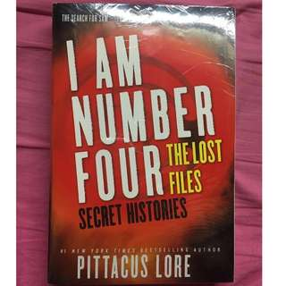 BOOK - I AM NUMBER FOUR