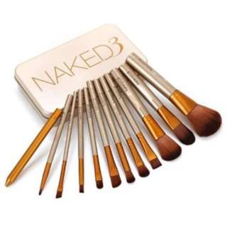 ‼️[SALE] NAKED3 12pieces brush set