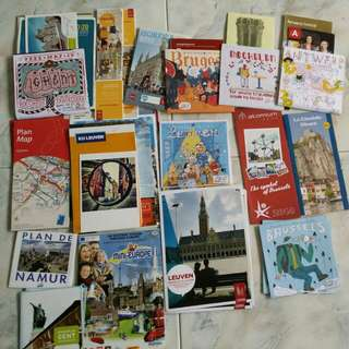 Free n Easy- Brussels,Bruges,Dinant,Antwerp,Michellen,Ghent,Leuven,Namur guidebook & map sgd 10!