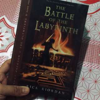 Percy Jackson- The Battle of the Labyrinth
