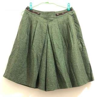 🚚 日系品牌寬褲裙L號