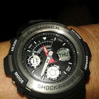 G-shock shock resist