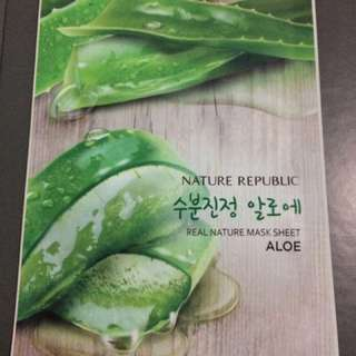 Nature republic real nature sheet