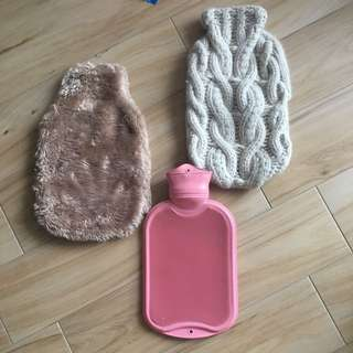 Winter warm thermal rubber bottle cuddle bag