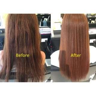 Shiseido Rebonding + Hair Cut