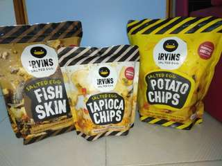 Irvins 限定咸蛋Topica Chips