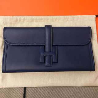 Hermes Jige Clutch in like NEW condition