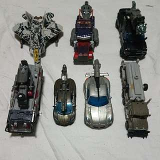 TRANSFORMERS Mix series Optimus Sentinel Starscream Megatron Ironhide Jazz Lockdown Prime