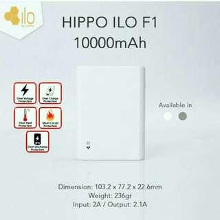Hippo Power Bank ILO F1 10000 mAh (Garansi Hippo)