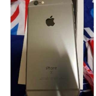 很新 便宜賣 i6S 1200萬畫素 有4K 女用機 iPhone 6S  16G 太空灰 全原廠配件還有盒子 電池剛換新
