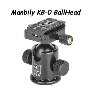 Manbily KB-0 BallHead [In Stock]