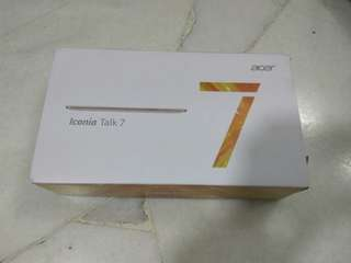 Acer iconia talk 7 (NEW)