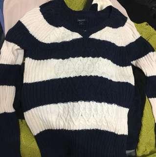 Nautica 條紋毛衣