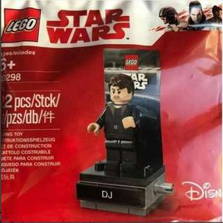 QQBricks Disney Star Wars LEGO 40298 DJ The Codebreaker Minifigure Polybag