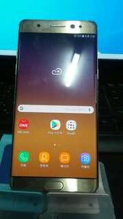 부천부평인천) 중고폰 갤럭시노트7 FE 64G N935K 공기계  중고스마트폰