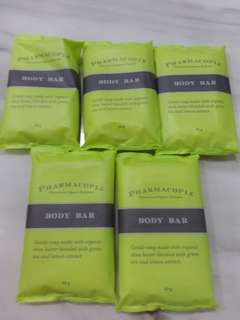 Body Bar Organic Shea Butter Green Tea