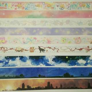 Assorted Washi tape samples