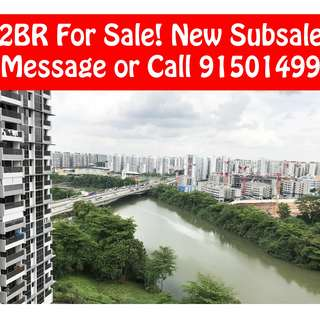 Rivertree Residences - RARE 2BR High Floor Pool View for SALE