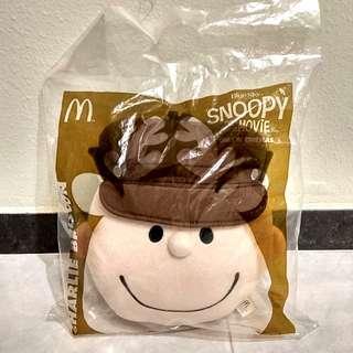 🆕Snoopy McDonald's Charlie Brown 公仔 cushion