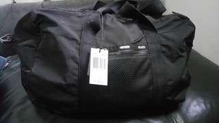 Lesportsac 新款超輕黑色中旅行袋