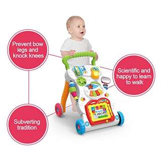 Brand new - Huanger Baby Activity Sit-to-Stand Learning Walker