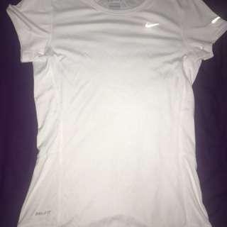 Nike Dri Fit White XS