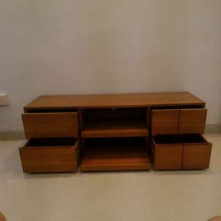 Scanteak TV Console. Free Delivery.