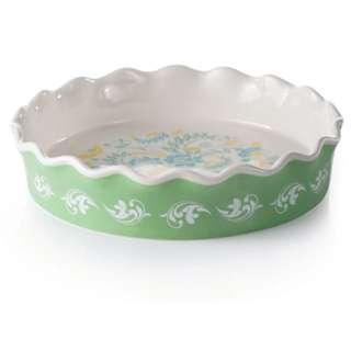 new! Avon floral pie dish