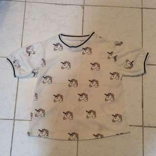 Unicorn Cropped Top