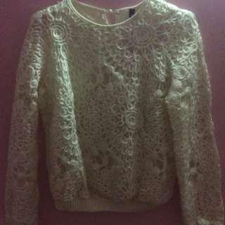 Sweater size m like new sekali pakai!