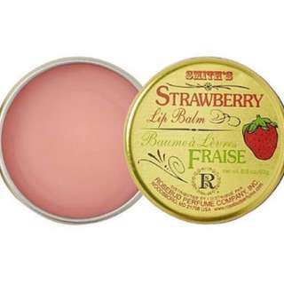 BN Smith's Rosebud Perfume Company Strawberry Lip Balm