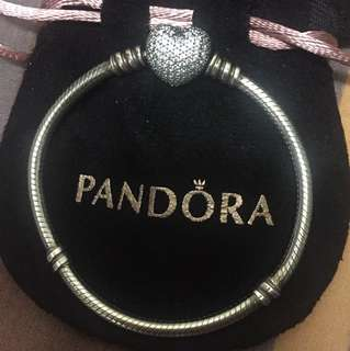 Pandora 16cm pave bracelet