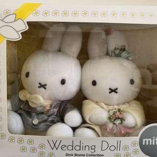🚚 Miffy 日本原裝進口Wedding Doll