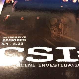 🚚 CSI : Crime Scene Investigation第五季 8DVD
