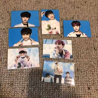 BTS Wings Tour Ver 1 Photocard