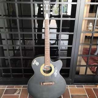 Acoustic guitar + free guitar case