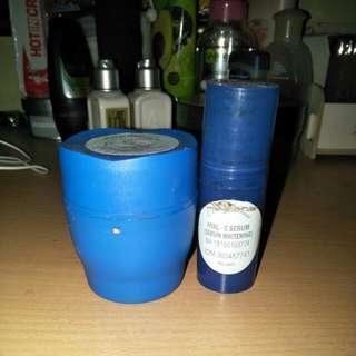 Beauty rossa cream malam dan c serum (whitening) take all