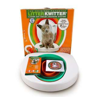Litter Kwitter Toilet Training Cat System Citi Kitty (Ready stock)