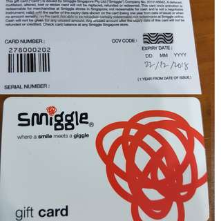 Smiggle Gift Card