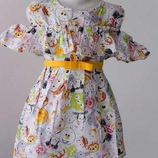Dress sabrina anak