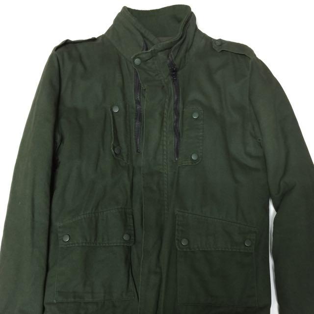 50%軍綠帥氣外套