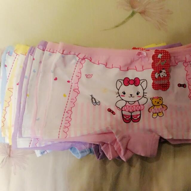 5~6歲兒童純綿四角褲(8件)