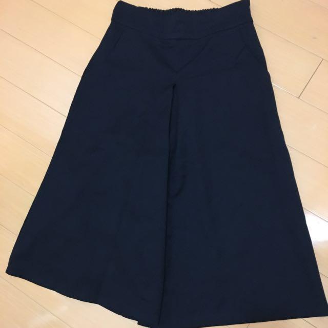 高腰款褲裙