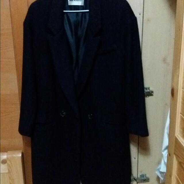正韓深藍西裝外套