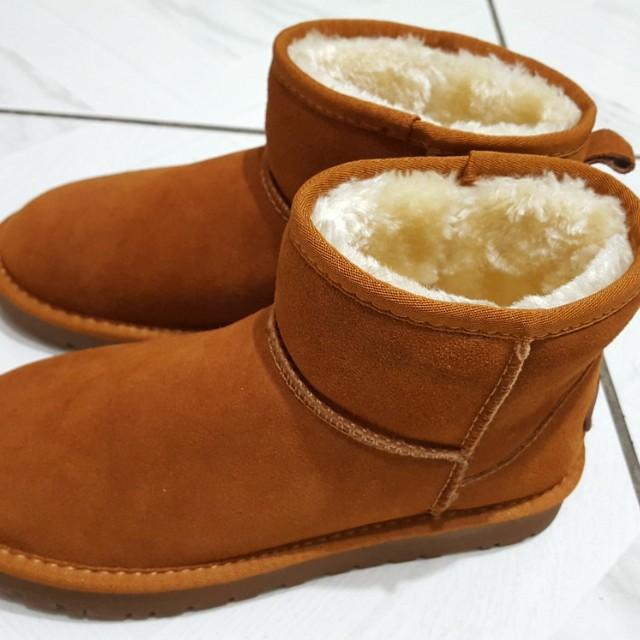 全新 37號 雪靴 短靴