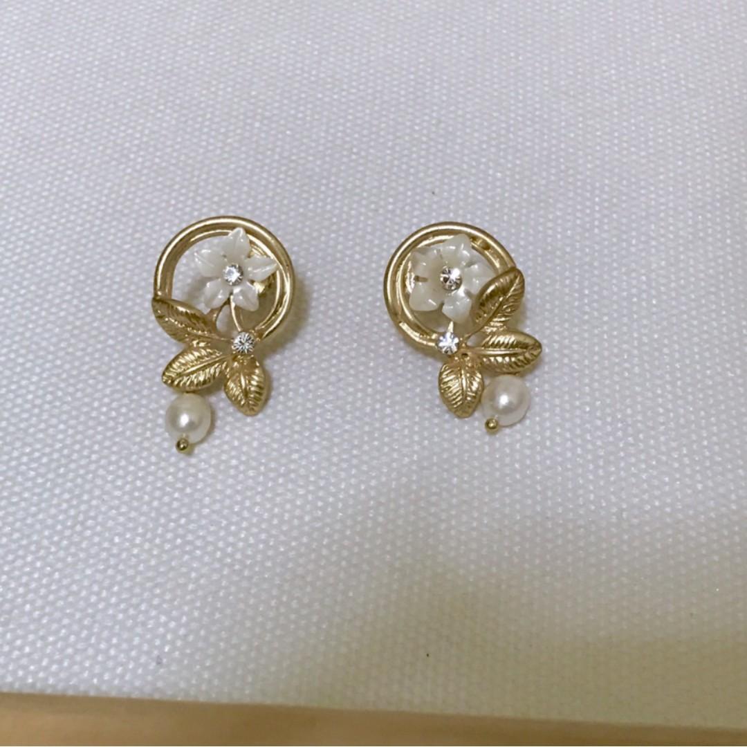 耳環-韓系耳環 珠寶花園