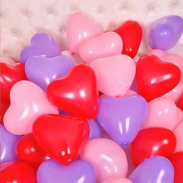 外拍 求婚道具紅色加厚氣球付打氣桶